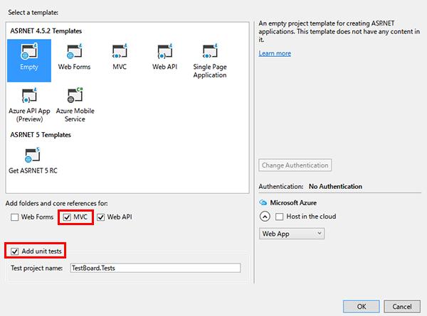 asp netで0から超簡易掲示板を作る