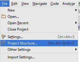 androidprojectstructure